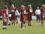 MRI on Washington Redskins defensive tackle Albert Haynesworth shows no damage to knee