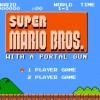 Super Mario Bros Portal Mash-Up