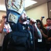 CM Punk Crashes WWE Panel at Comic-Con