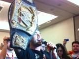 CM Punk Crashes WWE Panel at Comic-Con