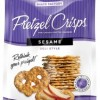 Sesame Pretzel Crisps by Snack Factory
