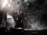 Man Of Steel: First Look at Cavill as Superman