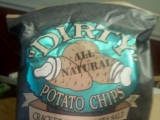 DIRTY brand Cracked Pepper And Sea Salt chips