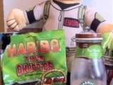 BevNerd Reviews Starbucks Mint Mocha Frappuccino & Haribo Twin Cherries!