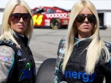 The Twins Of NASCAR Nationwide Series Amber and Angela Cope