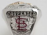 Cardinals Honor Rally Squirrel on World Series Ring