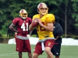 Cousins to start for Redskins vs. Browns Sunday in place of injured RGIII