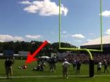Tom Brady Injured In Practice