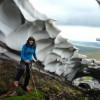 Dragon Skin Snow Melt in Scotland