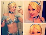 Disney Star Wars Princess Leia Halloween Hotties Mashup