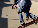 Amazing Blind Skateboarder