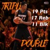 Incredible Triple Double by Whiteside