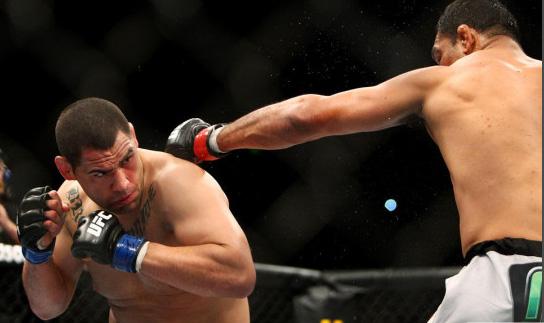 Velasquez v Nogueira at UFC 110