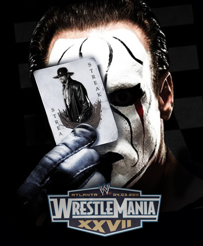 WrestleMania XXVII Undertaker vs. Sting