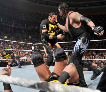 Undertaker Wrestlemania Wade Barrett Nexus The Corre