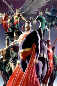 The Justice League by Alex Ross