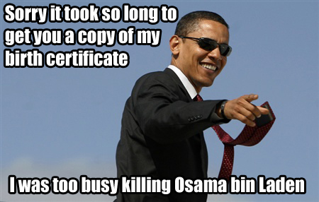Osama Bin Laden Killed, Barack Obama wins