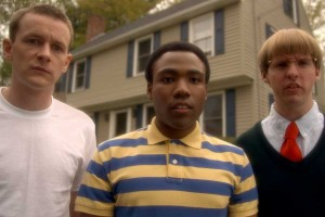 Dominic Dierkes, Donald Glover and D.C. Pierson of DERRICK COMEDY in Mystery Team
