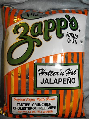 Zapps Hotter n Hot Jalapeno Chips