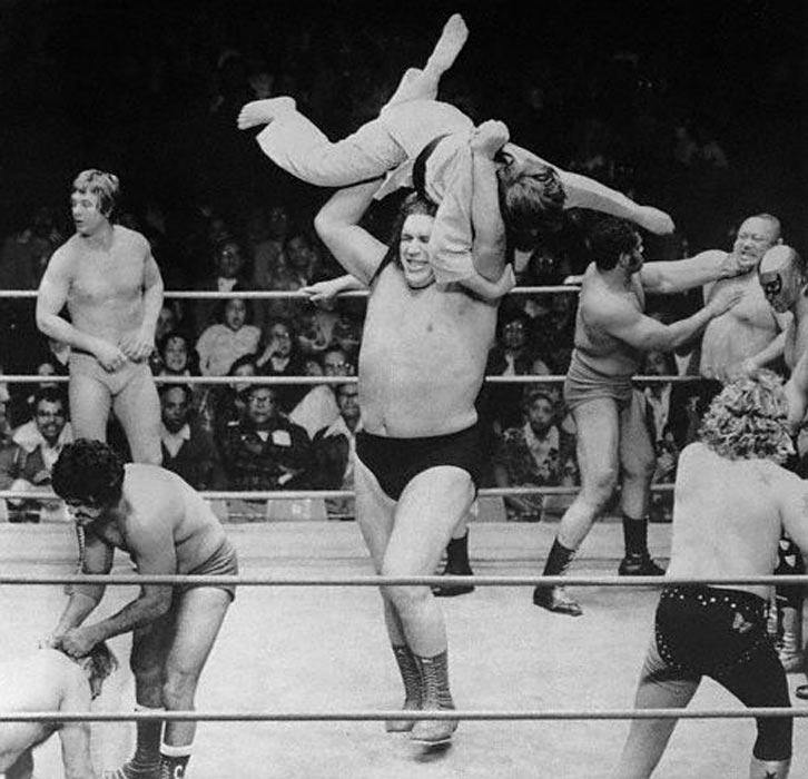 Andre the Giant Wins the First True Royal Rumble