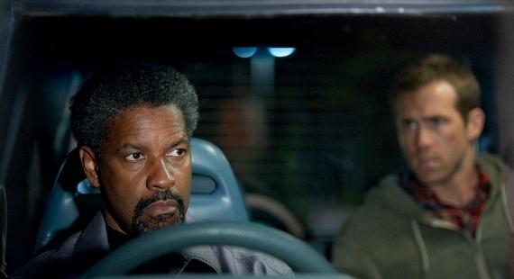 Denzel Washington and Ryan Reynolds from Safe House