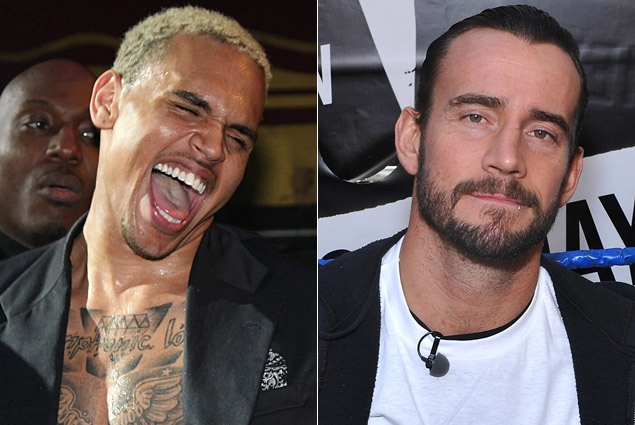 Chris Brown vs. CM Punk: The Twitter Feud