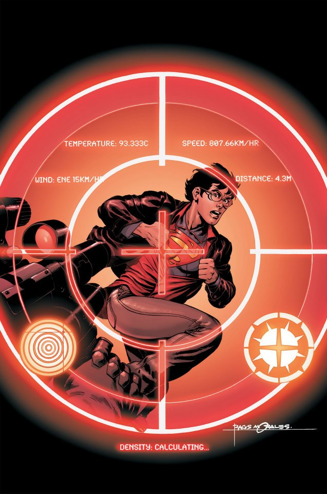 Superman targeted in Action Comics #10