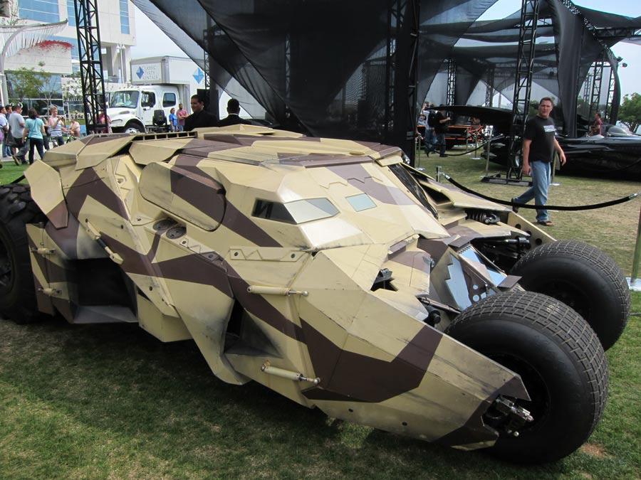 Bane's Tumbler from Dark Knight Rises