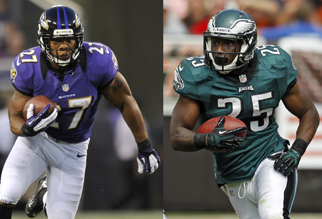 Ray Rice and LeSean McCoy