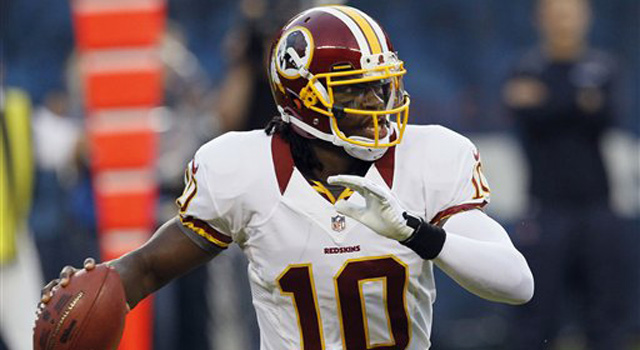 NFL Week 1 Preview - Robert Griffin III debuts