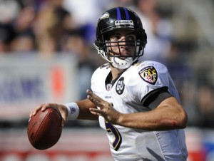 Waiver Wire Quarterback Prospect Joe Flacco
