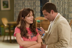Adam Sandler and the lovely Kate Beckinsale in Click