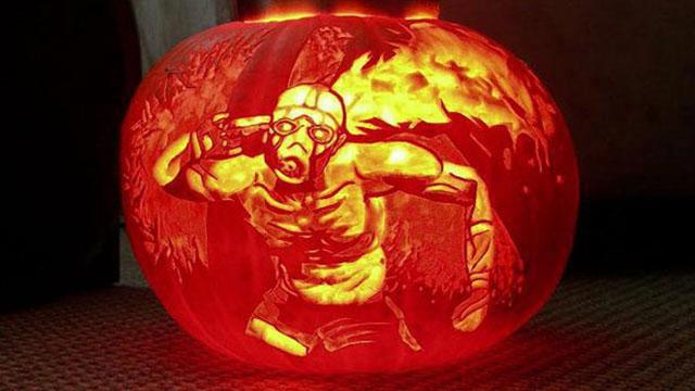 Borderlands pumpkin