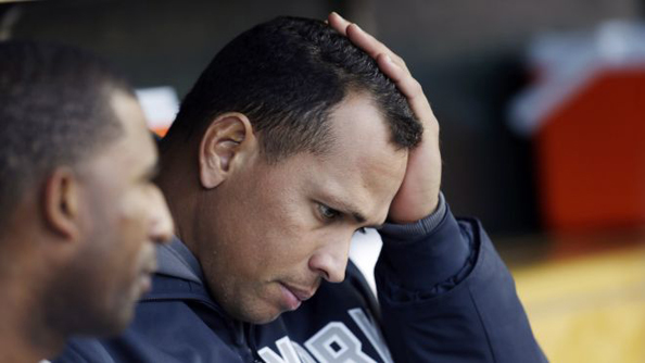 A-ROD AND A HARD PLACE: We thought A-Rod already came clean. This report on Biogenesis of America throws all that into doubt. Photo courtesy Paul Sancya/AP