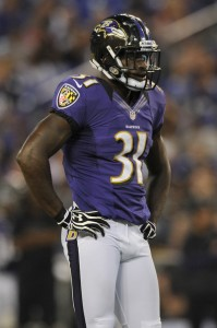 POLLARD POLLED: Ravens safety Bernard Pollard thinks the NFL will be gone in 30 years. He is in the severe minority. Photo courtesy Patrick Smith/Getty Images