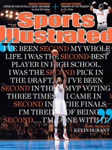 Kevin Durant SI Cover