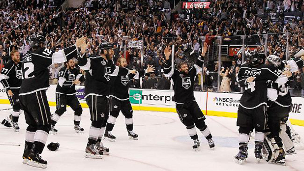 A GAME OF THRONES: The Kings lifted Lord Stanley last year, but that won't prove to be much help as they defend their title in 2013. Photo courtesy the Assocaited Press