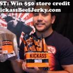 Kickass Beef Jerky Review & $50 Credit Contest