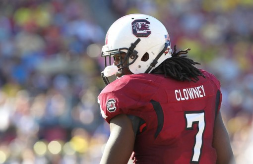 There might not be a more intimidating player in college football then Clowney  Photo by Kim Klement/USA TODAY Sports