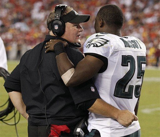 LeSean McCoy and Chip Kelly