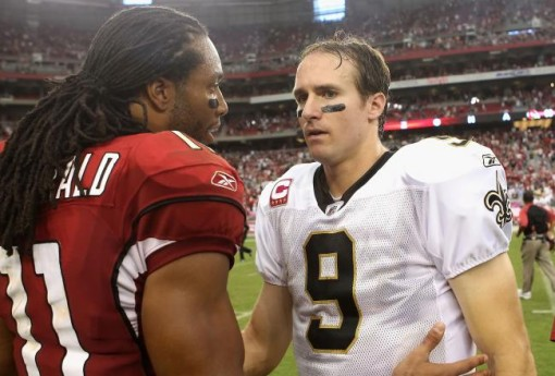 """""""Yeah, I wish you were one of my receivers, too."""""""