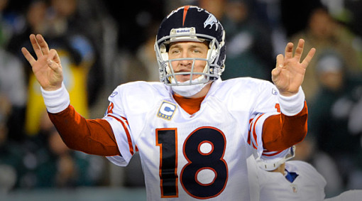 Peyton Manning and the 3-0 Denver Broncos looking to extend the streak with at least another 3 wins.