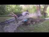 Homemade Epic 300-foot Slip And Slide