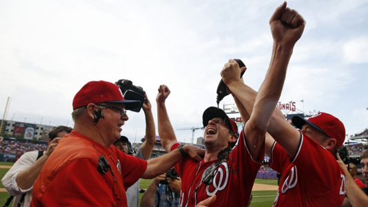 SUNDAE FUN DAY: It's all chocolate syrup and rainbows right now for the red-hot Nationals. Photo courtesy The Washington Post