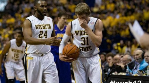 STATE OF SHOCKER: An upset loss to Northern Iowa in the Missouri Valley Conference Tournament has Wichita State in a risky position heading towards Selection Sunday. Photo courtesy KWCH