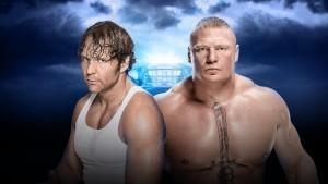 Ambrose vs. Lesnar