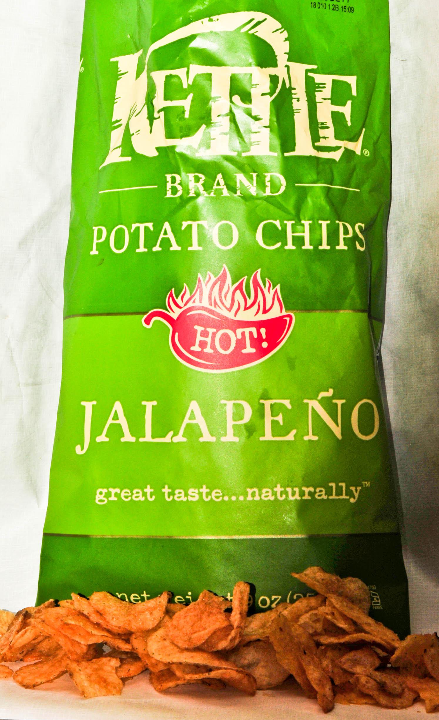 Kettle Brand Hot Jalapeno Chips | GuysNation