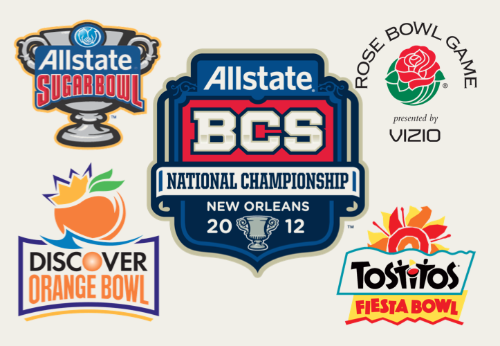 bcs bowl what are the football games today