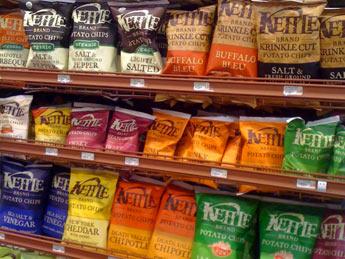 Kettle Baked Chips Amazoncom